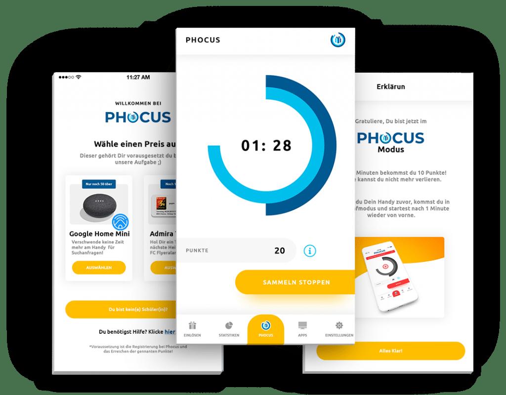 Phocus Screens