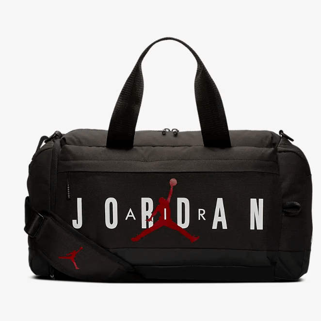 Jordan Jumpman Air Sporttasche schwarz front