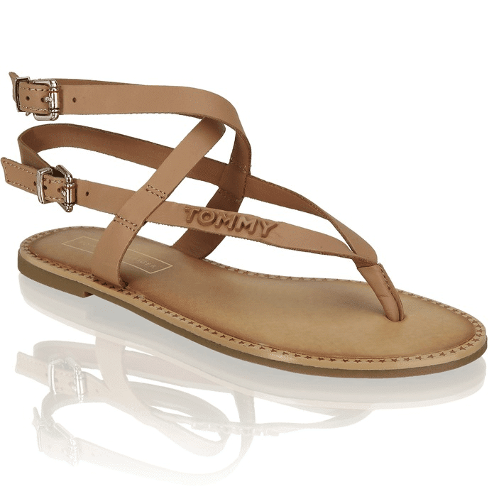 tommy-Hilfiger-Iconic-Flat-Brown-Front produktseite